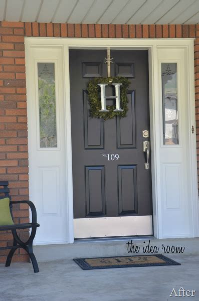 How To Paint A Door Painting A Metal Front Door