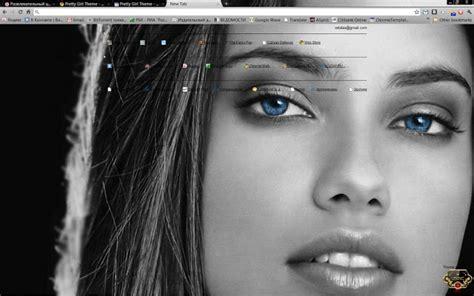pretty themes for google chrome pretty girl theme chrome web store
