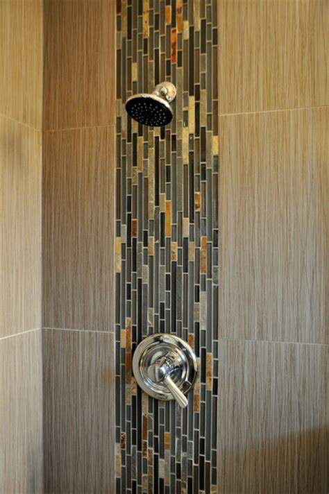 Waterfall Showers Bathroom Waterfall Shower Accent Modern Bathroom Other Metro