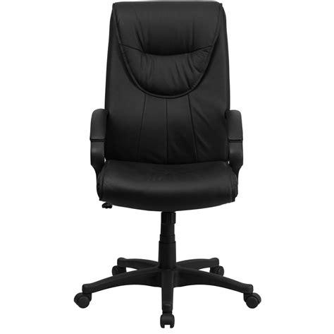 high back swivel chair high back black leather executive swivel office chair bt