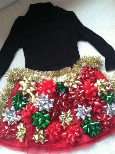ecu christmas skirt tacky skirt for a merry kerry could make a great sweater this way