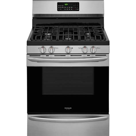 frigidaire 30 in 5 0 cu ft gas range with self cleaning