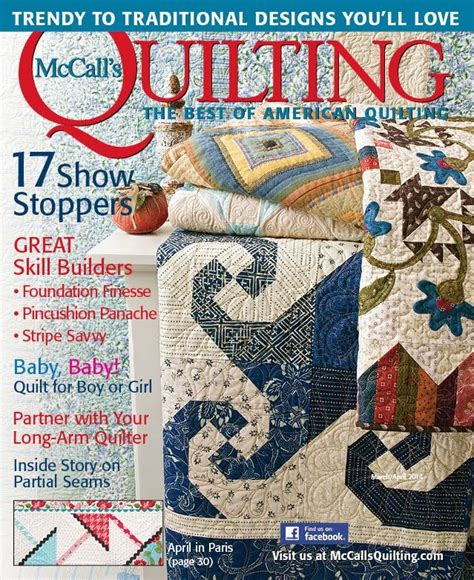 mccall s quilting magazine subscriptions renewals gifts