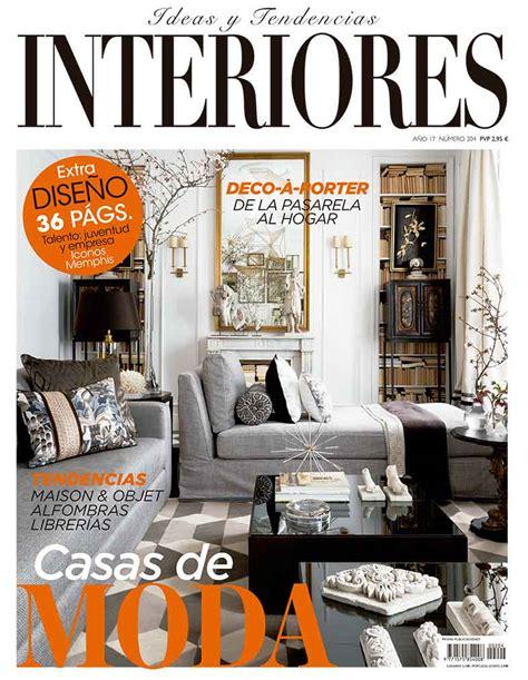 revista decoracion interiores revista interiores ideas de decoraci 243 n de interiores