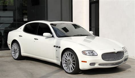 maserati 2008 quattroporte 2008 maserati quattroporte executive gt automatic stock