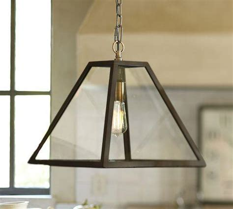 Pottery Barn Pendant Lights Greenhouse Pendant Pottery Barn