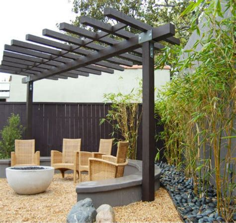 Cheap Small Pergola Ideas Garden Landscape Cheap Pergola Ideas