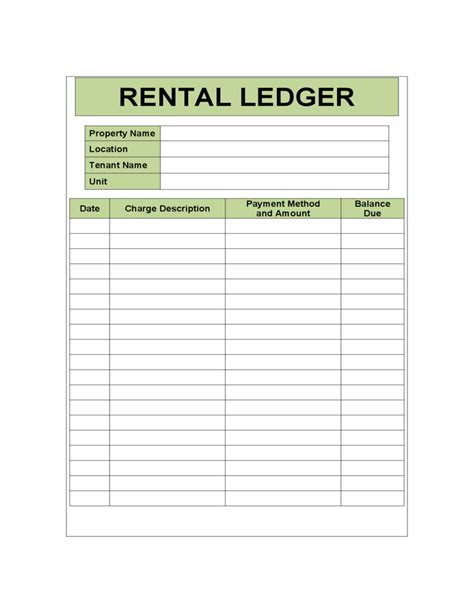 Rental Ledger Sle Template Great Ideas Pinterest Templates Free And Pdf Rental Property Bookkeeping Template