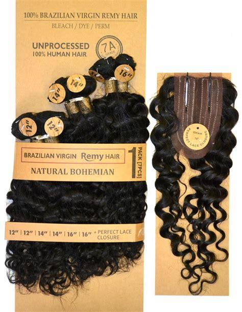 bohemian hair weave in the pack laflare 100 unprocessed brazilian virgin remy hair weave