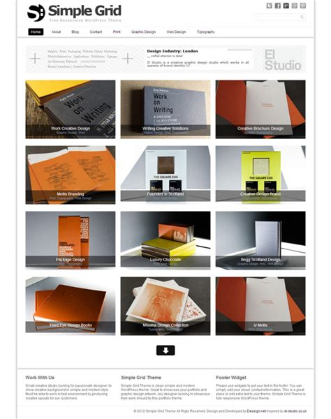 wordpress themes photo grid 15 best free grid wordpress themes for you