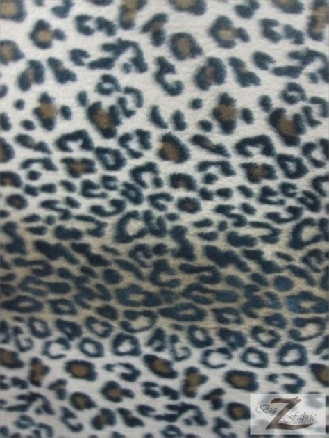 leopard fabric animal leopard fleece fabric by the roll wholesale polar