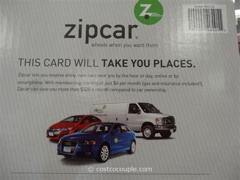 Zipcar Gift Card - gift cards zipcar