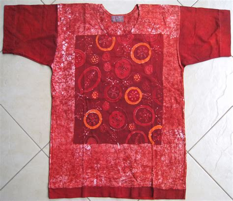 Blouse Motif Silang t shirt batiken dukiyaconnect