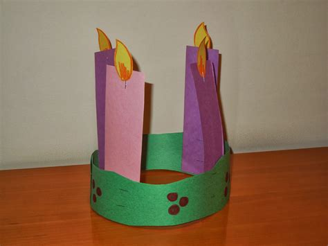 advent wreath crafts for catholic crafts for to make
