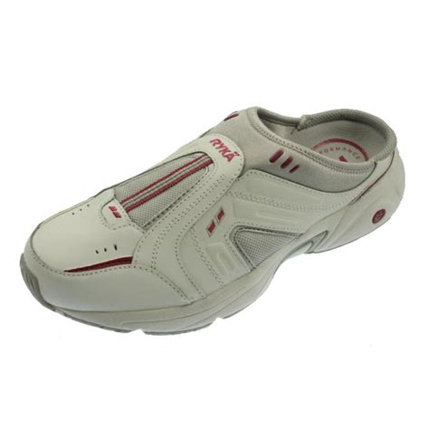 clog sneakers for ryka 1182 womens rtc leather clogs athletic walking shoes