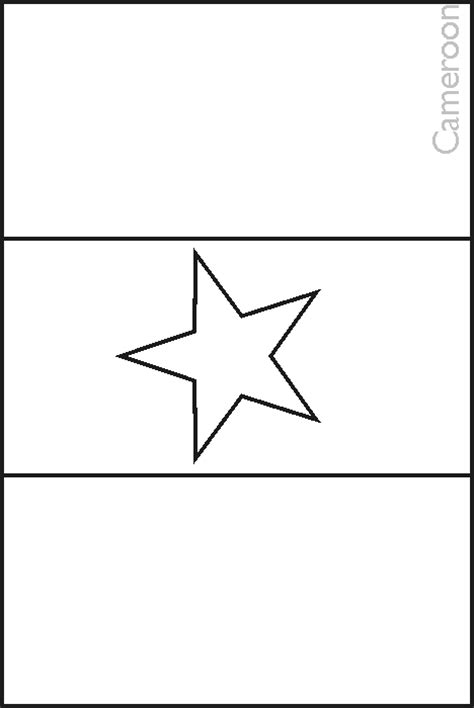 free coloring pages of flag of ghana colouring book of flags north africa