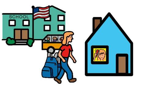 go home from school clipart www imgkid the image