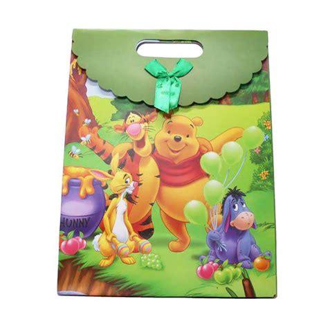 Goodie Bag Kartun jual kukuk pbg crtnm kartun pooh paper goodie bag sedang