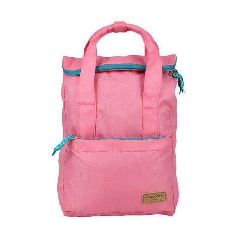 Tas Laptop Wanita Exsport jual exsport backpack laptop 17 litre licorice tas wanita pink harga kualitas