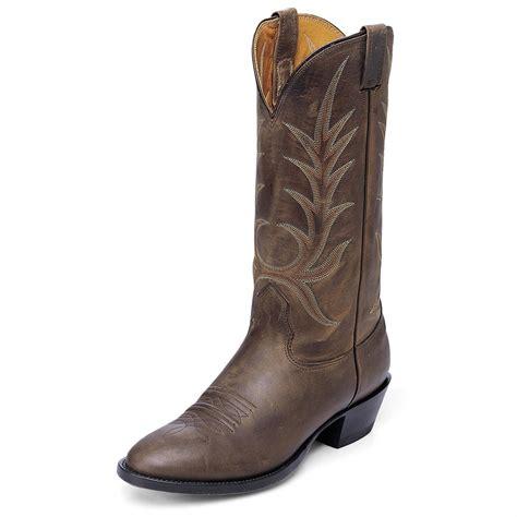 s nocona boots s nocona 174 steer western boots medium brown 123765