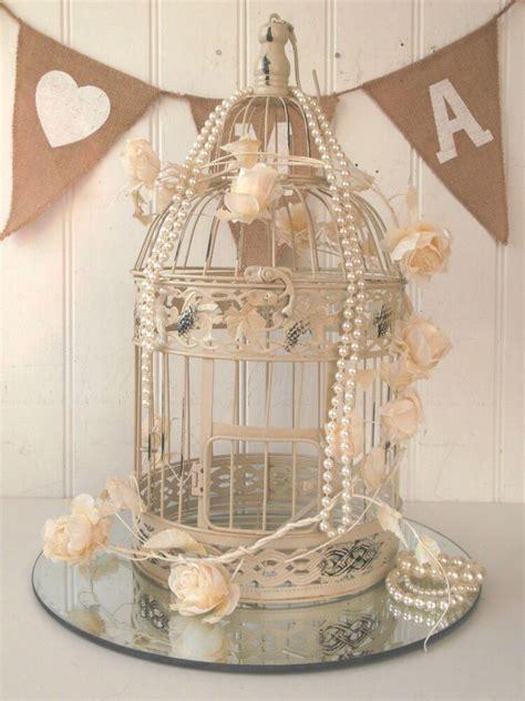 Vintage Style Decorative Bird Cage Wedding Table