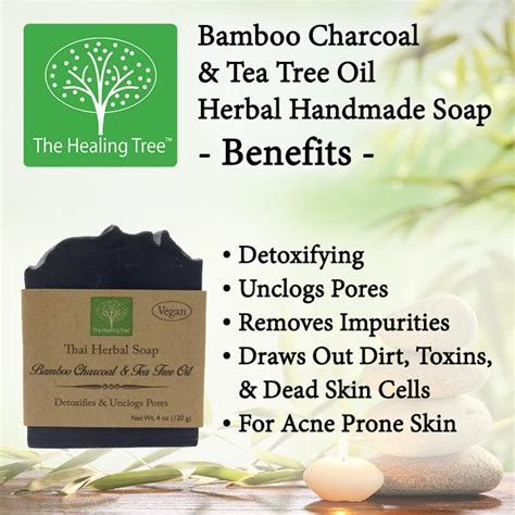 Handmade Soap Benefits - bamboo charcoal handmade soap for acne prone skin the