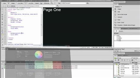 youtube tutorial dreamweaver 8 tutorial smoothscroll webpage with jquery dreamweaver