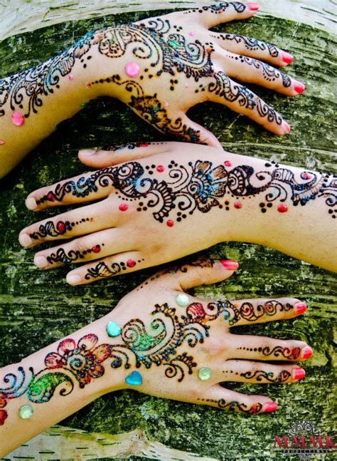 colorful henna gorgeous glitter mehndi designs our top 10 picks for
