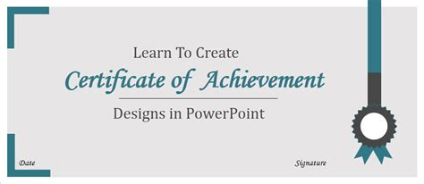 How To Create Certificate Of Achievement Templates In Powerpoint The Slideteam Blog Powerpoint Certificate Of Achievement Template
