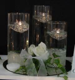 Centerpieces With Candles Green Bay Wedding Dresses Wedding Floating Candles Beautiful Centerpiece