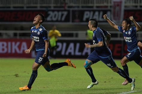 arema fc win  presidents cup football tribe asia