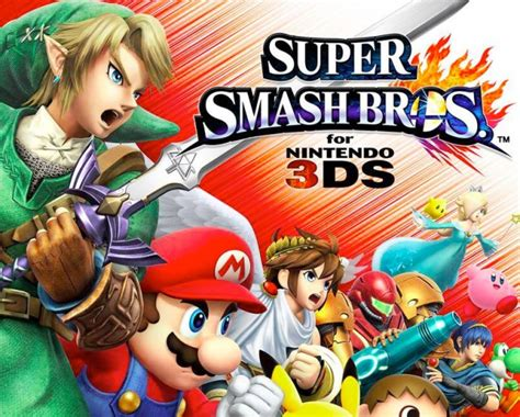 Smash Bros 3ds smash bros for 3ds on gameondaily