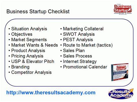 marketing plan template startup business startup checklist part 9 template marketing
