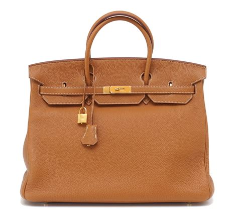 Classic Bag Hermes Birkin by Hermes Birkin Bag 40cm Classic Gold Togo Gold Hardware