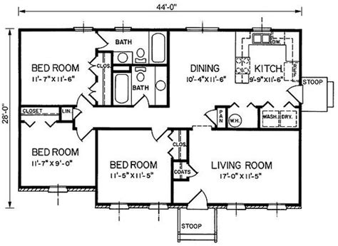1200 sq ft 4 bedroom house plans search floor