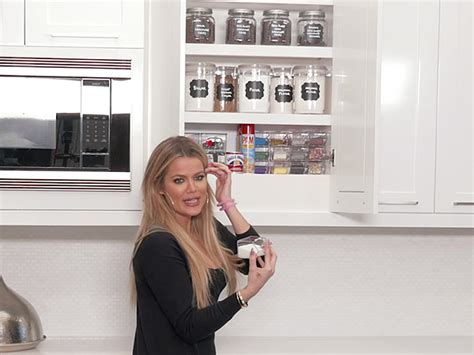 khloe kardashian organization khloe kardashian shows off her perfectly organized baking