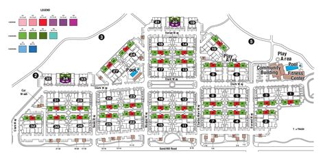 site plans site plan stanford west apartments