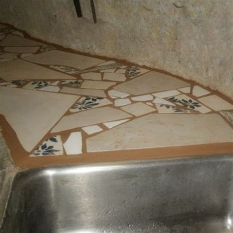 Mosaic Tile Countertop by 30 Pictures Of Mosaic Tile Countertop Bathroom