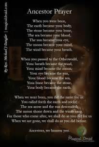 wiccan prayer ancestor prayer ancestors prayer and pagan