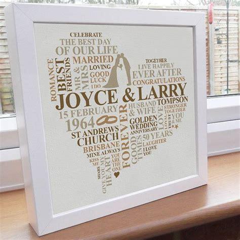 Golden Wedding Anniversary Gift Ideas For Parents by 50th Wedding Anniversary Gifts Uk Mini Bridal