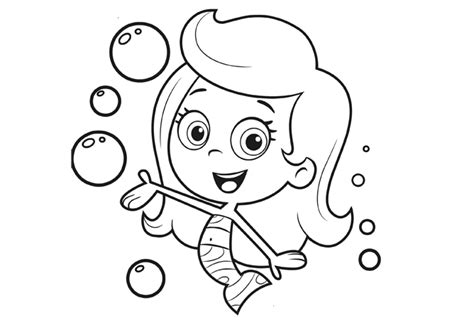 bubble guppies nick jr coloring pages nick jr characters coloring pages