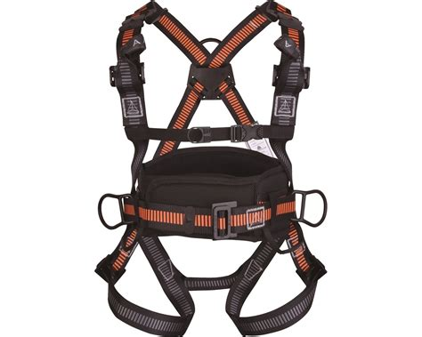 deltaplus harness with work positioning belt