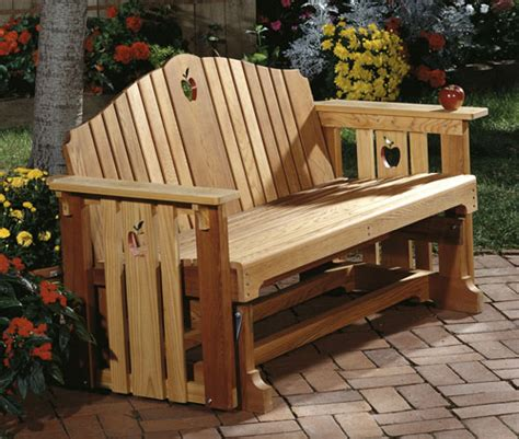 porch swing glider plans porch glider large format paper woodworking plan from