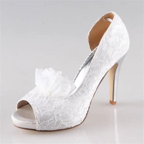 handmade ivory white lace wedding shoes shoes
