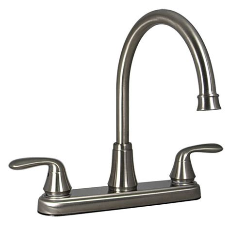 rv kitchen faucet parts phoenix products rb5662 i two handle hybrid high arc 8