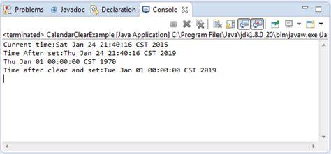 Calendar Api Java Java Calendar Api Exle Calendar