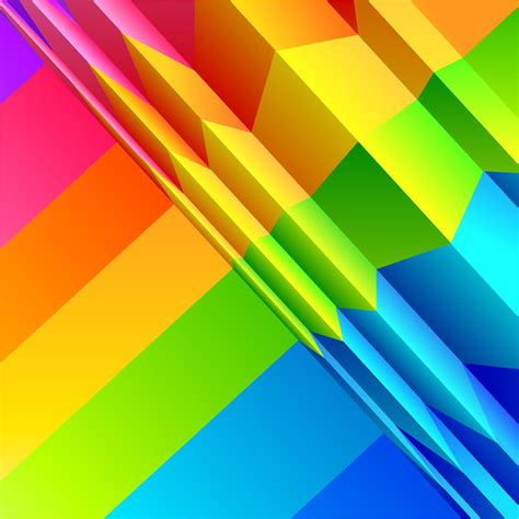 Colorful Origami - colorful origami background free vector graphic