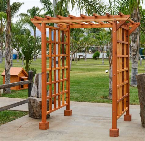 Wood Arbor For Sale Entry Arbor Custom Made Wood Entryway Arbor Kit For Sale