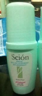 scion whitening roll on deodorant ph balanced for