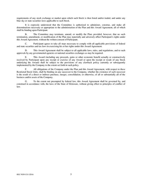 Section 105 Plan Document by Page 6